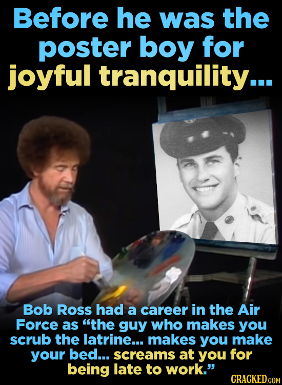 Bob Ross Loved Animals (As Much As He Loathed People)