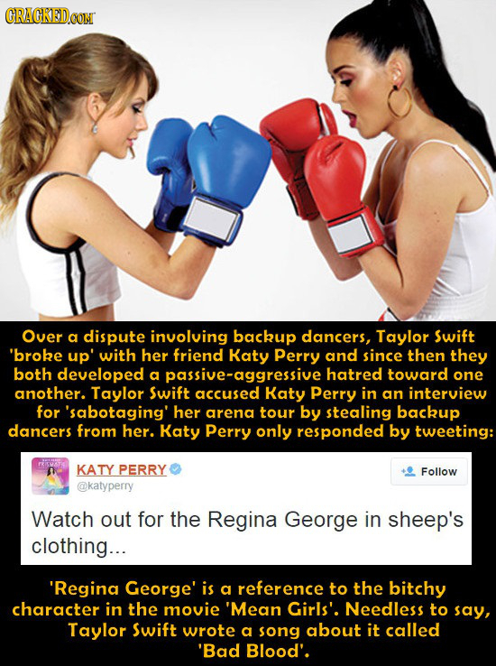 21 Celebrities Who Hate Each Other For Insane Reasons