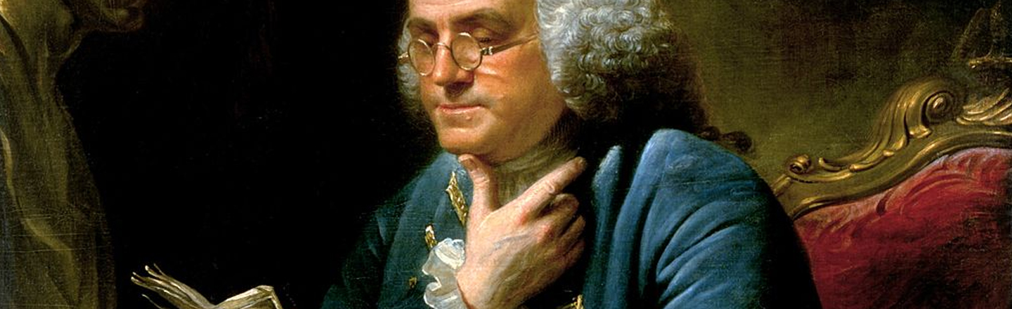Ben Franklin's Solution For Everything Was To Get Naked