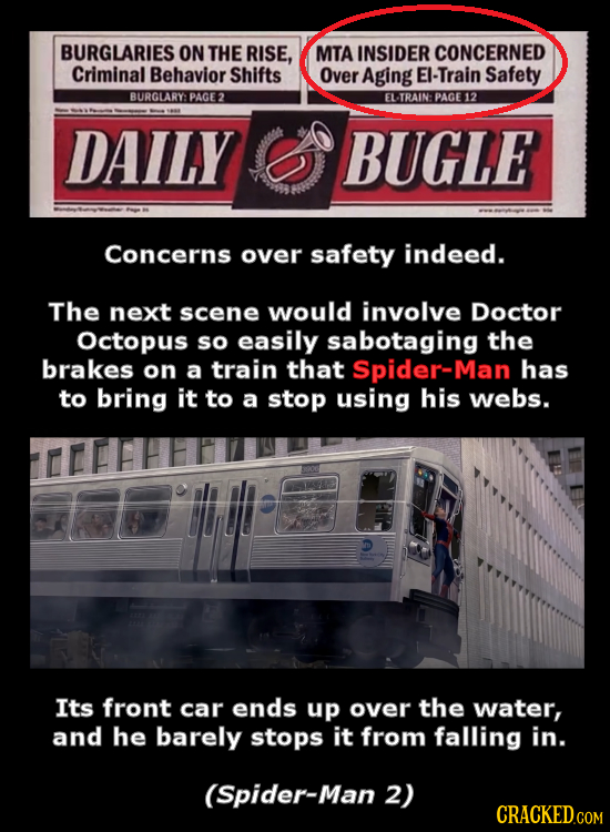 BURGLARIES ON THE RISE, MTA INSIDER CONCERNED Criminal Behavior Shifts Over Aging EI-Train Safety BURGLARY: PAGE2 EL TRAIN: PAGE12 DAILY BUGLE Concern