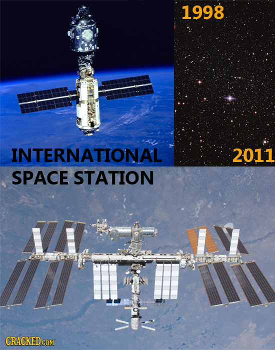 1998 INTERNATIONAL 2011 SPACE STATION