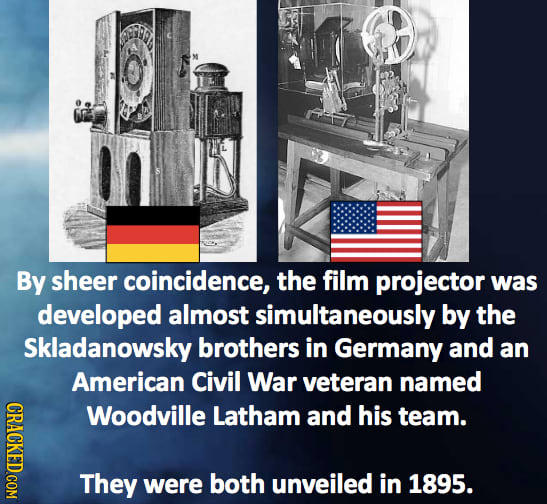 12 Strange Cases Of Simultaneous Invention