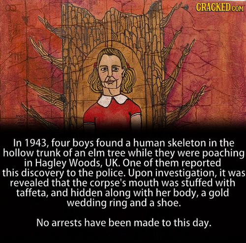 23 Creepy Unsolved Mysteries Nobody Can Explain | Cracked com