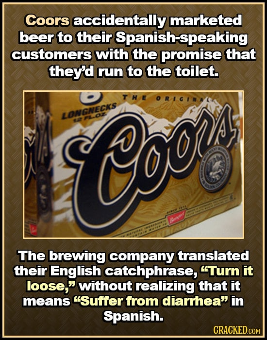 Bizarre Brand Name Blunders