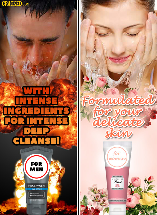 WITH INTENSE Formulated INGREDIENTS for your FORINTENSE delicate DEEP skin CLEANSE! for women FOR MEN ANTLONDANT oal FACE WASH HYORAYE DETeCANS 7 SORL