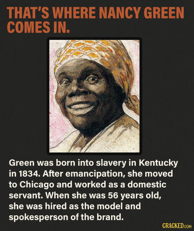 'Aunt Jemima' Was A Real Person (And A Former Slave)