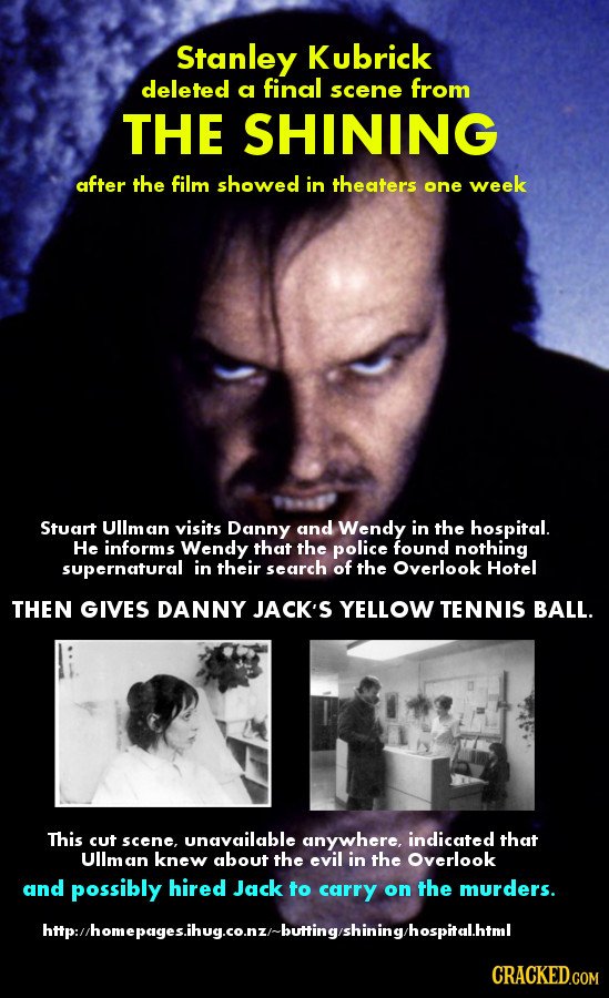 21 Real Deleted Scenes That Completely Change Famous Movies