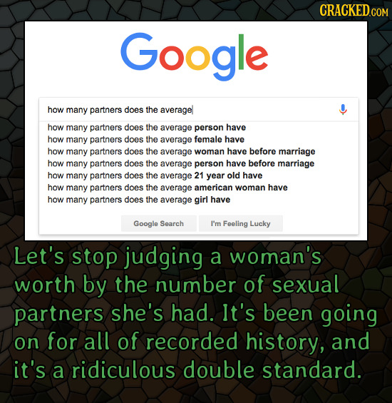 CRACKEDCO Google how many partners does the averagel how many partners does the average person have how many partners does the average female have how