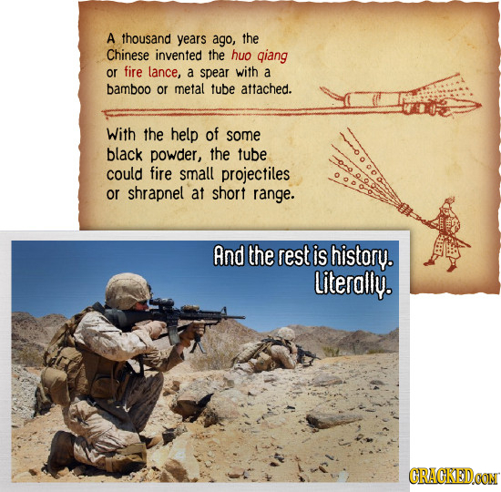 26 Historical Comparisons That Will Break Your Brain