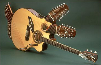 The 6 Most Ridiculous Guitar Designs