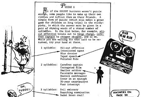 4 Bizarre Things Found in the NSA's Secret Internal Magazine