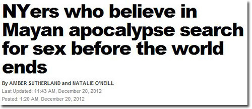 5 People Who Will Be Disappointed the World Didn't End Today