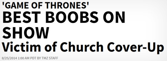 4 BS Stories That Went Viral: 'Game of Thrones' Bans Boobs