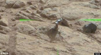 5 Insane Things Supposedly Seen by the Mars Rover