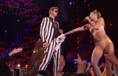 4 Subliminal Symbols You Missed in Miley Cyrus's VMA Show