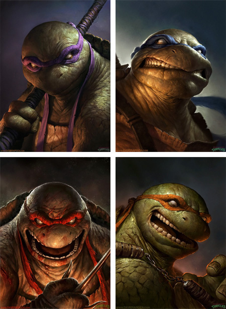 5 Pieces of Ninja Turtle Fan Art That'll Give You Nightmares
