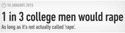 1 in 3 Men Love Rape: 6 Viral Stories That Were Total BS