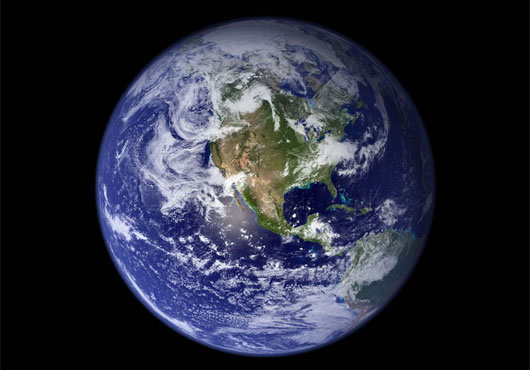 Our Planet: A nicer place to live when you're not the size of it.