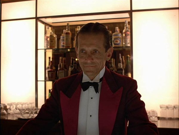 This bartender pours a mean drink and offer lots of cool advice on hotel upkeep and the systematic slaughter of your family.