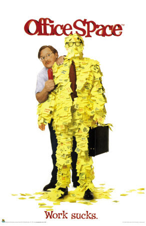 Pay no attention to the man behind the man covered in Post-Its...at your own risk.