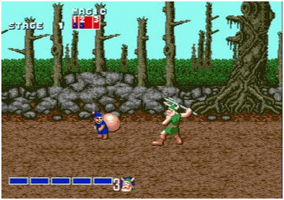 Golden Axe midgets